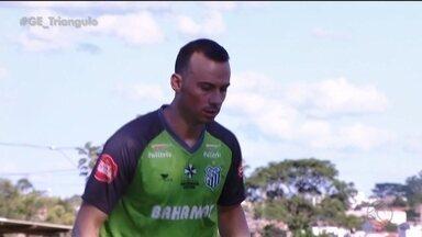 Uberlândia Esporte apresenta zagueiro Plínio para disputa do Campeonato Mineiro - Defensor de 35 anos inicia pré-temporada junto ao restante do grupo