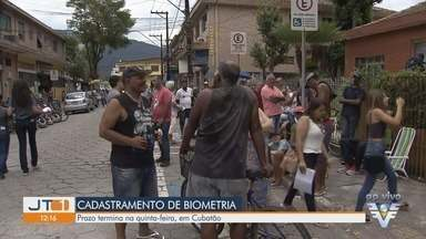 Cartórios registram filas nos últimos dias do cadastramento biométrico - Em Cubatão, o prazo para cadastramento acaba na próxima quinta-feira (19).