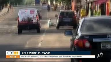 No dia de finados idoso foi atropelado por motorista imprudente - Saiba mais no g1.com.br/ce
