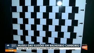 Museu das ilusões segue até março em Balneário Camboriú - Museu das ilusões segue até março em Balneário Camboriú