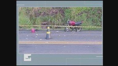 Motociclista morre em acidente na SC-157 em Coronel Freitas - Motociclista morre em acidente na SC-157 em Coronel Freitas
