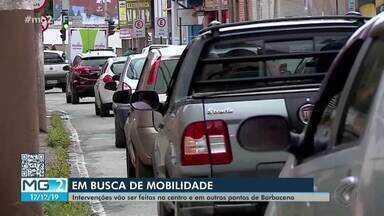 Motoristas de Barbacena reclamam do trânsito na cidade - De acordo com o Executivo, intervenções vão ser feitas no Centro e em outros pontos do município.