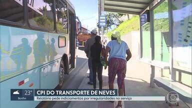 CPI do Transporte, em Ribeirão das Neves, pede indiciamento de empresa - Integrantes da atual administração e da anterior também podem ser responsabilizados por omissão ou por supostas irregularidades.