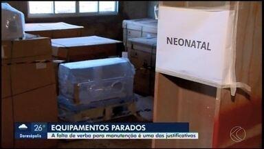 Equipamentos da UTI Neonatal da Santa de Casa de Araxá estão parados há mais de dois anos - Denúncia foi feita pelo deputado estadual Cleitinho Azevedo (PPS). O MG2 procurou a Secretaria de Saúde sobre o assunto.