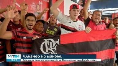 """Torcedores """"param"""" pra assistir ao Flamengo no mundial - Torcedores """"param"""" pra assistir ao Flamengo no mundial."""
