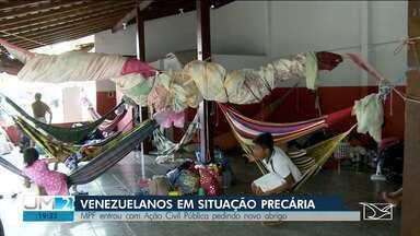 MPF pede transferência de índios venezuelanos para novo abrigo em Imperatriz - É que o lugar onde eles estão não oferece as condições adequadas de higiene e segurança.