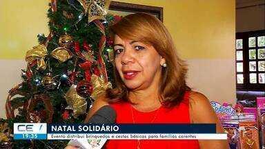 """Servidora da Justiça do Trabalho organiza ação social """"Natal Solidário"""" há 20 anos no Crat - Confira mais notícias em g1.globo.com/ce"""
