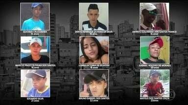 Áudios confirmam chamado de perseguição a suspeitos em moto em Paraisópolis - TV Globo teve acesso com exclusividade às gravações de conversas pelo rádio entre policiais militares no início da ação policial em Paraisópolis, na cidade de São Paulo, há 17 dias. A ação terminou com nove jovens mortos.