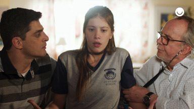 19/12 - Teaser 'Malhação - Toda Forma de Amar': César examina Anjinha - undefined