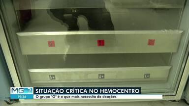 """Hemominas de Montes Claros está com situação crítica - O grupo """"O"""" é o que mais necessita de doações."""