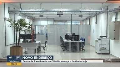 Centro de atendimento ao cidadão de Joinville tem novo endereço - Centro de atendimento ao cidadão de Joinville tem novo endereço