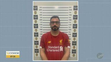 Polícia prende suspeito de participar de assalto milionário a agência bancária de Uberaba - Homem foi preso nesta quinta-feira (19) em Americana. Roubo aconteceu em junho deste ano.