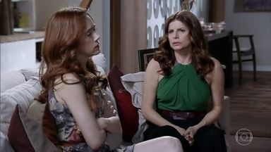 Noêmia e Verônica se unem contra Cadinho - Elas não conseguem ficar sem se preocupar com o marido
