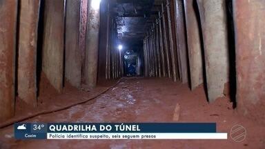 Polícia identifica suspeito que participou da construção de túnel em Campo Grande - Em Campo Grande.