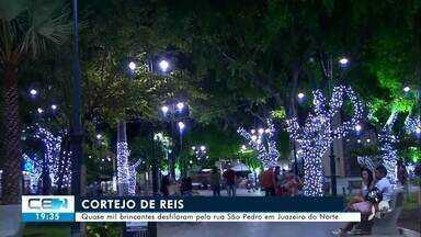 Principais praças de Juazeiro do Norte e do Crato estão decoradas para o Natal - Confira mais notícias em g1.globo.com/ce