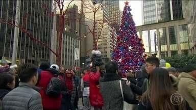 Cristãos do mundo todo comemoram o nascimento de Jesus - Até pessoas de outra fé se viram envolvidas com as celebrações do Natal