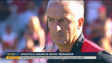 Dorival Júnior assume comando do Athletico para a temporada 2020 - Técnico vai ficar responsável pela equipe principal no ano que vem.