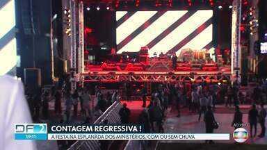 Ano Novo: Esplanada receberá quatro atrações para celebrar a virada - Shows vão do samba ao sertanejo.