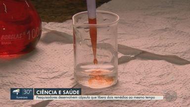 Pesquisadores de Franca desenvolvem cápsula que libera 2 remédios ao mesmo tempo - Além de controlar melhor as doses, o novo tratamento reduz efeitos colaterais.