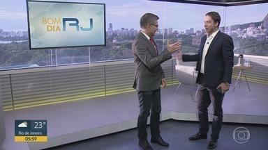 Bom dia Rio - Edição de segunda-feira, 06/01/2020 - As primeiras notícias do Rio de Janeiro, apresentadas por Flávio Fachel, com prestação de serviço, boletins de trânsito e previsão do tempo.