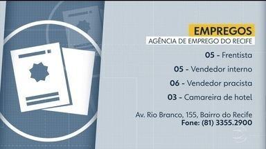 Confira vagas disponíveis na Agência de Emprego do Recife - Capital pernambucana oferece oportunidades para frentistas, vendedores e camareiras.