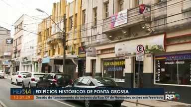 Prefeitura pretende tombar imóveis históricos da avenida XV de Novembro - Sessão de tombamento dos edifícios foi marcada para o mês de fevereiro.