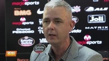 Tiago Nunes é apresentado no Corinthians - Tiago Nunes é apresentado no Corinthians