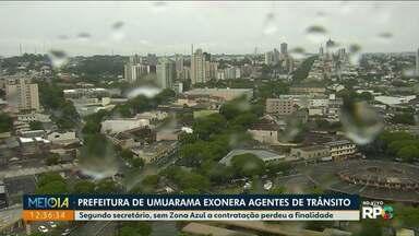 Agentes de Trânsito são exonerados em Umuarama - Fiscalização do trânsito agora será ser feita pela Guarda Municipal e pela Polícia Militar.