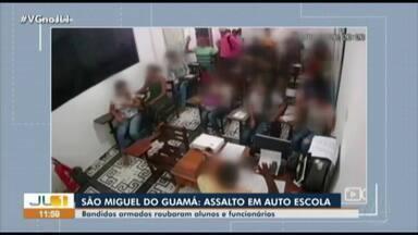 Homens armados invadem autoescola e assaltam alunos dentro de sala de aula no Pará - Homens armados invadem autoescola e assaltam alunos dentro de sala de aula no Pará