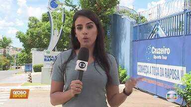 Com ausência de jogadores que devem deixar o clube, Cruzeiro treina na manhã desta terça - Com ausência de jogadores que devem deixar o clube, Cruzeiro treina na manhã desta terça