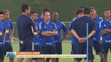 Em meio à incertezas, Cruzeiro se reapresenta e inicia a pré-temporada na Toca da Raposa - Em meio à incertezas, Cruzeiro se reapresenta e inicia a pré-temporada na Toca da Raposa