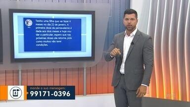 Confira a participação dos telespectadores pelo WhatsApp do JA - Confira a participação dos telespectadores pelo WhatsApp do JA