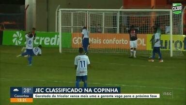 Esporte: JEC avança na Copinha - Esporte: JEC avança na Copinha