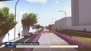 Bairro de Cubatão ganha ciclovia e obras de infraestrutura - Projeto executivo deve ser iniciado nos próximos dias.