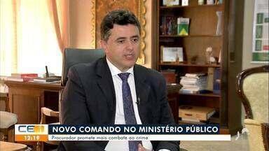 Ministério Público do Ceará tem novo procurador - Saiba mais no g1.com.br/ce