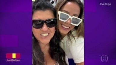 """Anitta e Regina Casé gravam vídeo nos bastidores de """"Amor De Mãe' - Assista o que está rolando na nuvem de palavras. Ex-faxineira se forma em direito em faculdade do sul"""