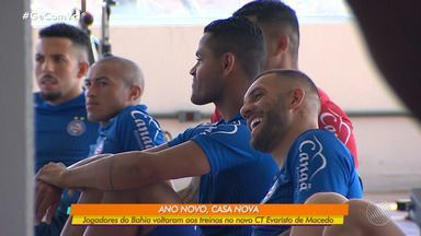 Ano novo, casa nova: Jogadores do Bahia voltam aos treinos no novo CT Evaristo de Macedo - Novo centro de treinamento fica na região metropolitana de Salvador.
