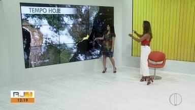 Veja a previsão do tempo para as cidades do interior do Rio - Confira a previsão do tempo para as cidades da região.