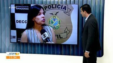 Homem é preso suspeito de agredir mãe idosa em Manaus - Crime ocorreu em Manaus