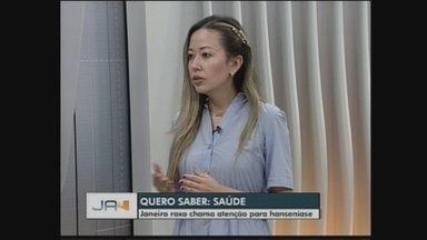 Quadro 'Quero Saber JA' fala sobre Hanseníase - Quadro 'Quero Saber JA' fala sobre Hanseníase