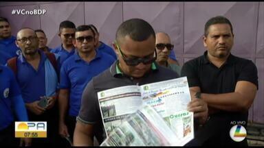 Rodoviários da empresa São Luiz realizam paralisação nesta quarta-feira, 8 - Paralisação começou na manhã desta quarta-feira, 8.