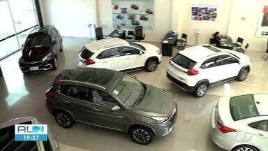 Vendas de carro zero aumentaram mais de 11% em Alagoas - setor comemora a procura.