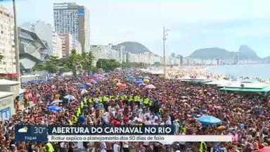 Riotur explica planejamento dos 50 dias de carnaval no Rio - O presidente da Riotur garante que o Sambódromo estará pronto na primeira semana de fevereiro.