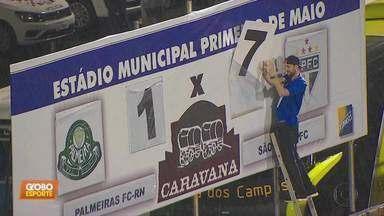Com troca no garoto do placar, os gols da rodada da Copa São Paulo de futebol Júnior - Com troca no garoto do placar, os gols da rodada da Copa São Paulo de futebol Júnior