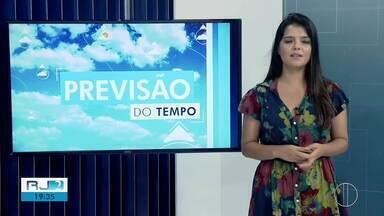 Confira a previsão do tempo desta quarta-feir, 8 de janeiro de 2020 - O RJ2 traz as temperaturas do interior do Rio.