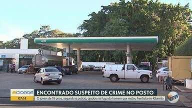 Suspeito de participar de roubo com morte de frentista é preso em Ribeirão Preto - Jovem de 18 anos foi encontrado na Favela do Brejo.