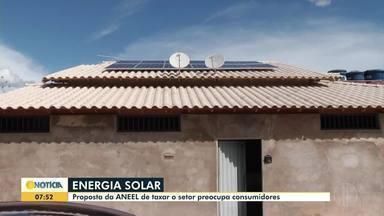Energia solar: Proposta da ANEEL de taxar o setor preocupa consumidores - undefined