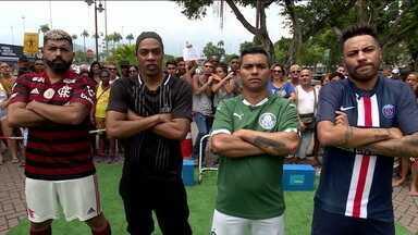"""Esporte Espetacular lança a """"Batalha dos clones"""", desafio entre os sósias mais famosos do Brasil - undefined"""
