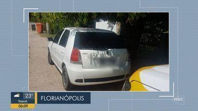 Giro de notícias: Polícia Militar Rodoviária apreende carro clonado em Florianópolis - Giro de notícias: Polícia Militar Rodoviária apreende carro clonado em Florianópolis