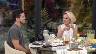 Programa de 10/01/2020 - Ana Maria recebe Vitor na Casa de Cristal e mostra as emoções do jantar dele no 'Jogo de Panelas Espírito Santo'